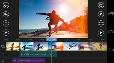 Most Innovative Android Apps - Power Director Video Editor