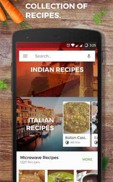 Most Innovative Android Apps - Recipe Book