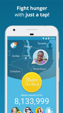 Most Innovative Android Apps - Share the meal