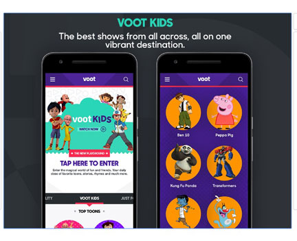 Most entertaining apps - Voot