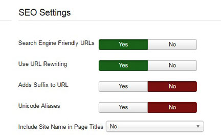 Remove index.php from URL in Joomla - URL rewriting
