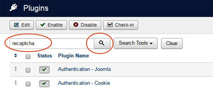Add Recaptcha to Joomla - 4