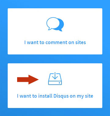 Add Disqus to Joomla 1