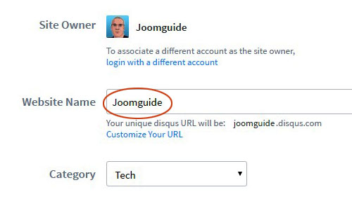 Add Disqus to Joomla 2