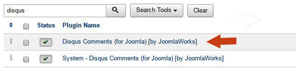 Add Disqus to Joomla 8