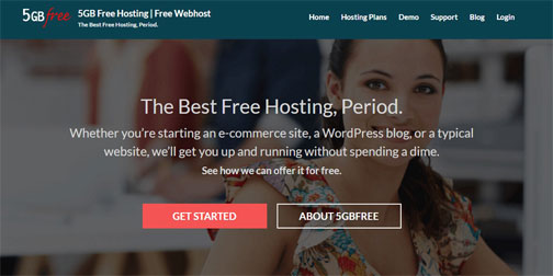 Best Free Website Hosting - 5GBfree