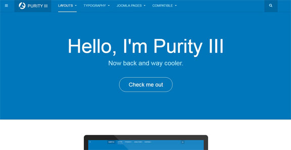Free and responsive Joomla Templates - JA Purity III