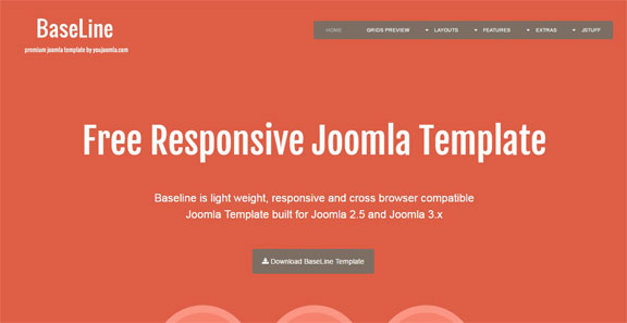 Free and responsive Joomla Templates