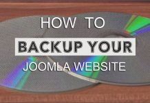How to back up your Joomla Website