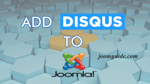Add Disqus to Joomla