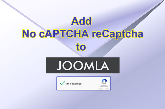 Add Recaptcha to Joomla