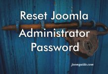 Reset Joomla Administrator Password