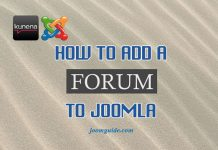 Add a forum to Joomla